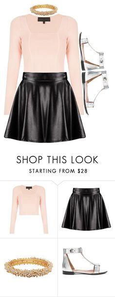 """""""Untitled #932"""" by rainbows12302 ❤ liked on Polyvore featuring Kendall + Kylie, Boohoo and Givenchy"""