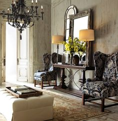 Fabulous room designed by Horchow (www.horchow.com).