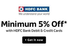 hdfc credit card cash back details