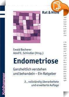 Endometriose    :  Dieses Buch gibt einen umfassenden Einblick in das Krankheitsbild der Endometriose. Dabei schlägt es eine Brücke zwischen der Schulmedizin und einem breiten Spektrum an alternativen und ergänzenden Therapien. Es stellt ein ganzheitliches Verständnis der Erkrankung vor und eröffnet neue Behandlungsmöglichkeiten.   Verschiedene Autoren beschreiben in 26 Kapiteln u. a.: - die Erkrankung Endometriose, ihre Diagnostik sowie die medikamentöse und operative Therapie  - vers...
