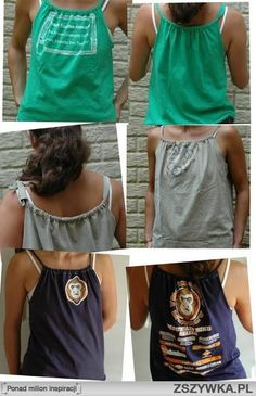 Make Over A Tee Shirt | Zobacz zdjęcie t-shirt makeover w pełnej rozdzielczości