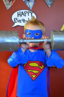 for when my son is older :) She used toilet paper and a paper towel empty roll and wrapped in duct tape.she has cute ideas! Superman Birthday Party, 11th Birthday, Superhero Party, 2nd Birthday Parties, Birthday Ideas, Birthday Photos, Party Time, Party Ideas, Terrace
