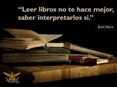 Leer libros no te hace mejor, saber interpretarlos si.