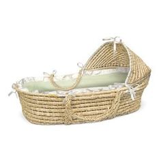 Gingham Hooded Moses Basket - Color: Natural/Sage Gingham Badger Basket http://www.amazon.com/dp/B00GZ6OVZ8/ref=cm_sw_r_pi_dp_M.jivb0NVWD60