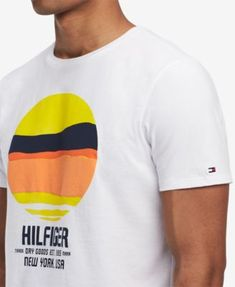 e3c7982f Tommy Hilfiger Men's Graphic-Print T-Shirt, Created for Macy's & Reviews - T -Shirts - Men - Macy's