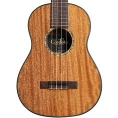 Cordoba Tenor Ukulele Solid Mahogany w/Polyfoam Case Small Guitar, Deep And Wide, Tenor Ukulele, Guitar Building, Wide Body, Lighter, Perspective, Spanish, Join