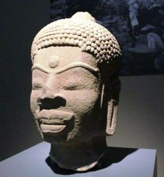 The Cham civilization is the classical civilization of Vietnam and seems to have a had a profoundly significant Black elite element inside it. It is a Buddha from Central Vietnam.