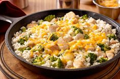 Easy Chicken and Broccoli Recipe - Healthy Living Kraft Recipes Kraft Foods, Kraft Recipes, Broccoli Recipes, Chicken Broccoli, Chicken Recipes, Chicken Rice, Broccoli Rice, Broccoli Casserole, Rice Casserole