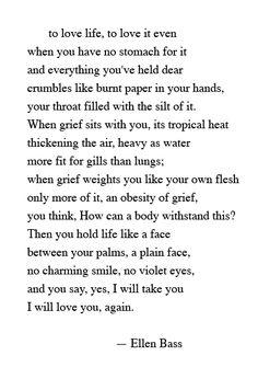 great poem for a broken heart