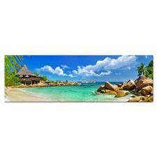 holidays in tropical paradise. Seychelles Yoga Mat