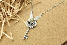 the Harry Potter jewelry silver owl necklace by nortonheart, $2.90