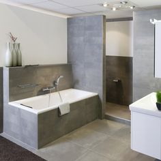 How to Finish Your Basement and Basement Remodeling – House Remodel HQ Modern Bathrooms Interior, Chic Bathrooms, Bathroom Interior Design, Bathroom Styling, Interior Modern, Interior Ideas, Country Style Bathrooms, Family Bathroom, Luxury Interior Design