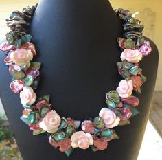 You Never Promised Me A Rose Garden - Jewelry creation by Madalynne Homme