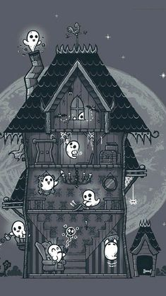 Find images and videos about wallpaper, Halloween and ghost on We Heart It - the app to get lost in what you love. Retro Halloween, Halloween Poster, Halloween Pictures, Halloween Horror, Holidays Halloween, Kawaii Halloween, Halloween Clipart, Halloween Stuff, Halloween Decorations