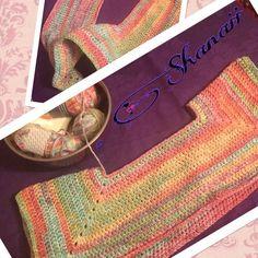 #topdown #crochet #sweater in #progress! My first sweater without any #pattern  Hope it'll work well   #crochet  #häkeln #crochetersofinstagram #haken #hakersvaninstagram #handmade #welovecrochet #crochetlove #hekling #instacrochet #crochetersofinstagram #yarn #handarbeit #lovecrochet #hook #haekeln #crochetaddict #bhook #crocheting  #häkelnisttoll #häkelliebe #crochetproject #crocheted #hook #crochethook #hooking #hooker #yarnaddict by shanaiiflinkton