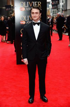 Olivier Awards Red Carpet - Danielle Radcliffe looking fly in a tux