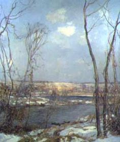 pa impressionist artists - Google Search  Edward Redfield