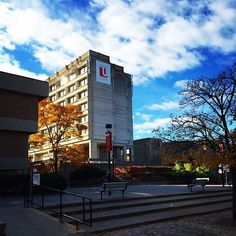 An autumn morning at ! Thanks to community member for the share. Autumn Morning, York University, School Photography, Toronto, Thankful, Community, Fall, Instagram Posts, Travel