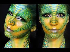 Lizard   Reptilian Makeup Tutorial