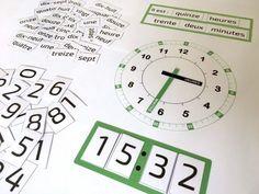 Quelle heure est-il ? Un super printable pour apprendre à lire l'heure