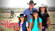 Professional Bull Riders - Women of the PBR: Tamara Berezay talks about how Two Bit Bucking Bulls came to be and the involvement her daughters, Montana and Nevada, have in raising the bulls
