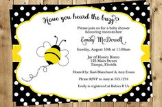 . . . . . . . . . . . . . . ♥ DETAILS ♥ . . . . . . . . . . . . . . . . ♥ This listing includes 10 PRINTED Invitations and 10 Envelopes. ♥ To order a digital, print yourself file, please message us and we will reply with a link to order. ♥ Invitations measure 5 x 7 inches.