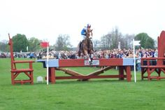 Badminton Horse Trials - this picture is from 2008!