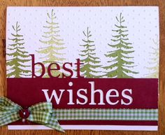 Best Wishes Card - Outside The Box