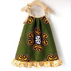 African Wax Print Sundress $35.00