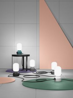 Plug Lamp by @Form Us With Love for ateljé Lyktan.