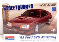 Brand new in a sealed box.  1985 Ford SVO Mustang - Special Vehicle…