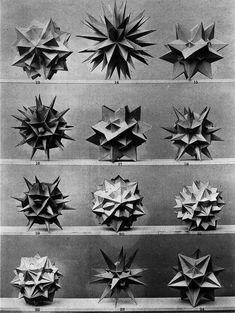 Design is fine. History is mine. — Max Brückner, from his book Vielecke und...