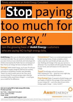 Check your energy rates for free click link below no contract no