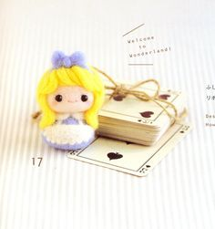Lovely Felt Wool Friend Doll - Japanese craft book