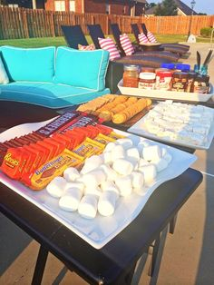 Gourmet S'mores Party