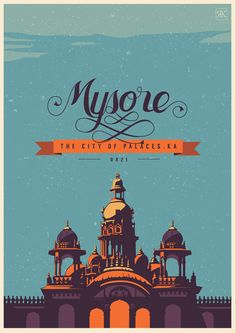 Travel Postcards // Design & Illustration by Ranganath Krishnamani Indian Illustration, City Illustration, Graphic Design Illustration, Digital Illustration, India Poster, Tourism Poster, India Art, Postcard Design, Postcard Art