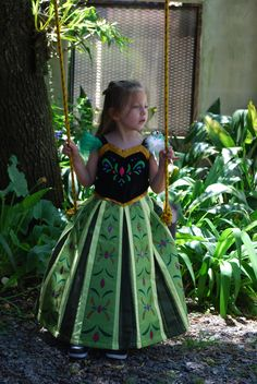 Frozen Anna coronation dress for toddler by melinaminotti on DeviantArt