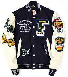 NE Letterman jacket