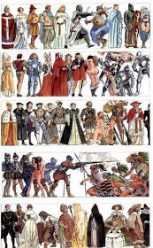 """MikeLiveira's Space: Milo Manara's """"History of Humankind""""."""