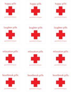 pill bottle label template Items similar to Happy Pill Labels on Etsy Prescription Bottles, Pill Bottles, Nurse Appreciation Week, Doctor Party, Nurse Party, Medical Party, Nurses Day, Nursing Graduation, Printable Labels