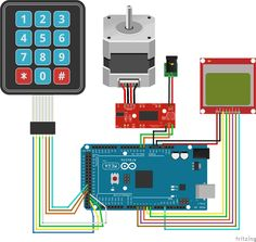 OVERVIEW In this tutorial we will see how to move a stepper motor to an exact position that we enter on a keypad.  Plus we will display some information like c