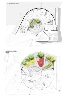 Concept Models Architecture, Interior Architecture, Sunken Garden, Landscape Design Plans, Master Plan, Museum, Shapes, How To Plan, Thesis