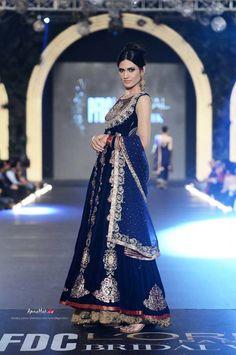 Asifa & Nabeel https://www.facebook.com/AsifaandNabeelOnlineStore Pakistan at PFDC L'Oreal Bridal Week (Oct) 2013