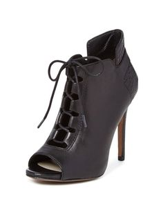Vione Lace-Up Bootie from Pour La Victoire: Up to 80% Off on Gilt
