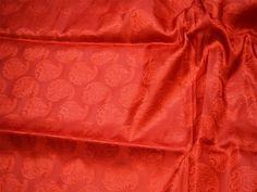 Red Jacquard Fabric Brocade By The Yard Silk Wedding Dresses | Etsy Classic Wedding Dress, Country Wedding Dresses, Wedding Dresses Plus Size, Modest Wedding Dresses, Wedding Bridesmaid Dresses, Wedding Gowns, Ivory Wedding, Floral Wedding, Bhldn Wedding