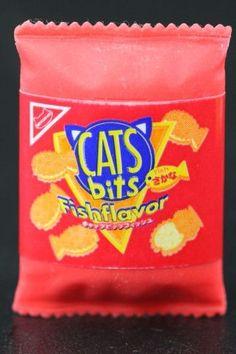 Cat Bits Snack Eraser