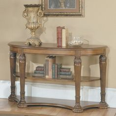 Have to have it. Parker House Sofa Table - Pecan $351.99