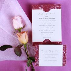 unique handmade Mr and Mrs Smith theme wedding invitation sets