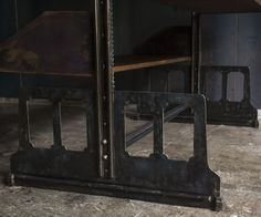 Industrial Archive Shelf Copper parts