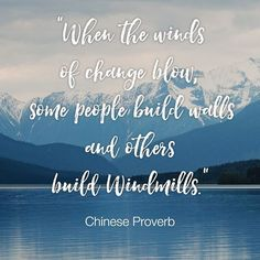 """When the winds of change blow, some people build walls and others build windmills."" Old Chinese Proverb  It's cold, #windy and miserable outside. But we're wrapped up warm inside and feeling inspired and very exited for the weeks to come! Hope you are too.  #coldwinter #keepingwarm #inspired #exited #dailyinspiration #inspirationalquotes #myfavouritequotes #heart #quote #qotd #Chinese #proverb #life #instamood #follow4follow #igers #sustainable #sustainablefuture #sustainableliving…"